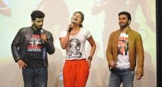 Gunday film stars at Welingkar College for promotion