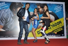 Harman, Ayesha and Shilpa performs at launch of song Tu Mere Type Ka Nahi Hai from film Dishkiyaoon