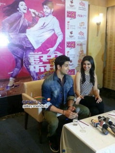 Hasee Toh Phasee film promotion in Kolkata