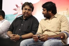 Imman and Vijay Sethupathi at Alaiye Alaiye audio launch