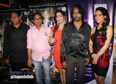 Jai Prakash, Mahi Sheikh, Mahi Khanduri and Prashant at premier of the film Dee Saturday Night