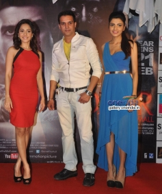 Jimmy Shergill and Nushrat Bharucha during Darr At The Mall promotion at R City Mall