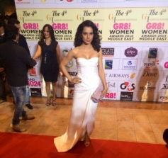Kangna Ranaut at GR8 Women Awards 2014
