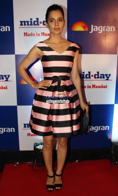 Kangna Ranaut at Mid Day newspaper's relaunch party