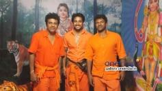 Shivrajkumar, Prem Kumar, Puneeth Rajkumar at Sabarimala Yatra
