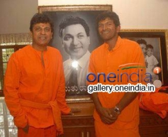 Shivrajkumar, Puneeth Rajkumar at Sabarimala Yatra