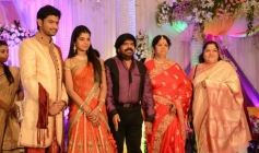 KS Chitra at T Rajendar Daughter Ilakiya Wedding Reception