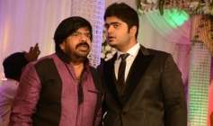 Kuaralarasan at T Rajendar Daughter Ilakiya Wedding Reception