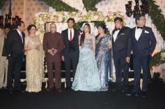 LK Advani at Ahana Deol's Delhi wedding reception