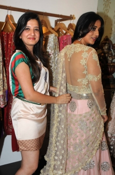 Mahi Gill during her makeover by fashion designer Amy Billimoria