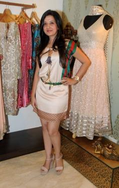 Fashion designer Amy Billimoria during the makeover of Mahi Gill