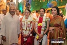 Mani Ratnam and Suhasini at Vj Ramya and Ajith Jayaraman Wedding