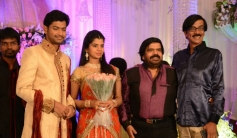 Manobala at T Rajendar Daughter Ilakiya Wedding Reception