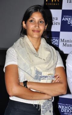 Maya Sarao  at Ankhon Dekhi film trailer launch