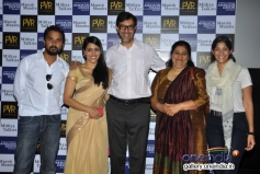 Maya Sarao, Seema Pahwa, Rajat Kapoor, Taranjit Kaur and Namit at Ankhon Dekhi film trailer launch