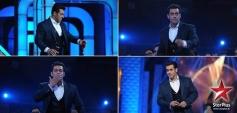 Mixed Reaction of Salman Khana at Star Guild Awards 2014