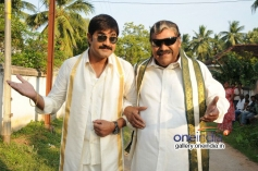 Srikanth and Kota Srinivasa Rao stills from Naatu Kodi