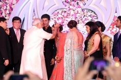 Narendra Modi attends Ahana Deol and Vaibhav Vohra's Wedding