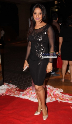 Neetu Chandra at Siddharth Kannan and Neha Agarwal wedding reception