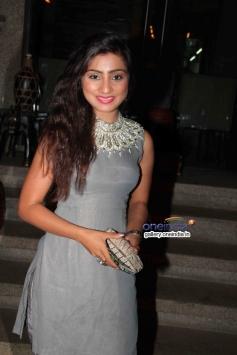 Neha Marda at success party of TV serial Balika Vadhu