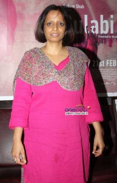 Nishita Jain at press interaction of documentry film Gulabi Gang