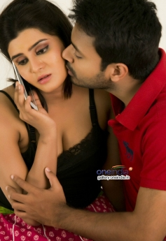 NK and Harini stills from Pichekkistha Movie