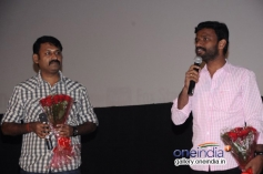 Pandiraj addressing media at Cuckoo audio launch
