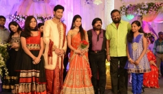 PL Thenappan at T Rajendar Daughter Ilakiya Wedding Reception