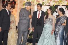 Political VIPs at Ahana Deol's Delhi wedding reception