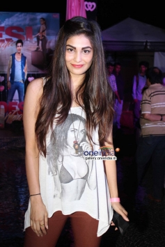 Pooja Chopra at first look launch of film Desi Magic