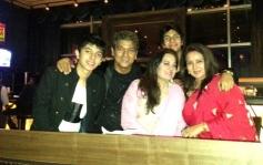 Poonam Dhillon at Avitesh Shrivastava's 18th birthday bash