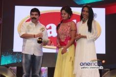 Powerstar and Bindu Madhavi at 7th Year Edison Awards 2014