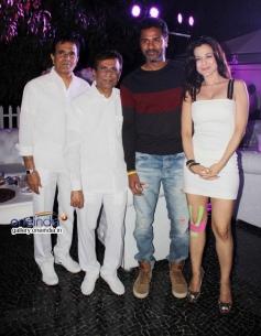 Prabhu Deva and Ameesha Patel at first look launch of film Desi Magic