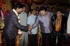 Prabhu at Stunt Master Kittu daughter Marriage Reception