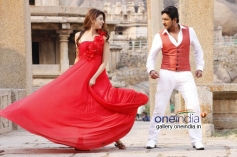 Pranitha and Ajay Rao in Kannada Movie A 2nd Hand Lover