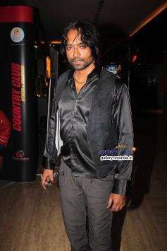Prashant Narayanan at premier of the film Dee Saturday Night