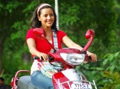 Priya Anand still on bike