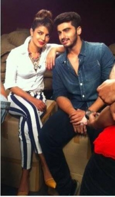 Priyanka Chopra and Arjun Kapoor promote Gunday