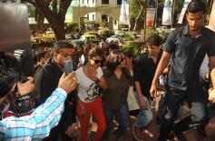 Priyanka Chopra arrives Welingkar College to promote Gunday