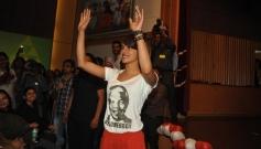 Priyanka Chopra arrives at Welingkar College
