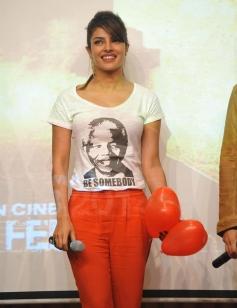 Priyanka Chopra at Welingkar College