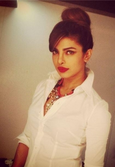 Priyanka gearing up for her film Gunday promotion