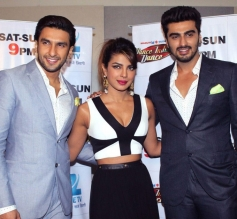 Promotion of Gunday on Dance India Dance
