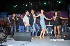 Kangna Ranaut and Raj Kumar Yadav performs at Queen music launch