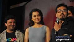 Kangna Ranaut and Amit Trivedi at Queen music launch