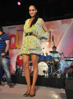 Lisa Haydon poses at Queen music launch