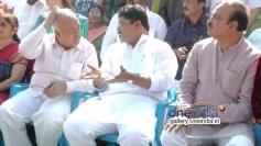 R Ashok, Rama Linga Reddy, Anirudh & Anant Kumar at Dr. Vishnuvardhan Road  Inauguration