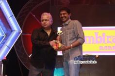 Radha Ravi and Arunachalam at 7th Year Edison Awards 2014