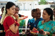 Radhika still from Avatharam Movie