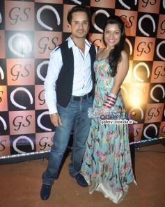 Raghav Sachar and Amita Pathak at Gaurav & Shubha Sethi's party